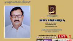 KOSHY ABRAHAM (65)