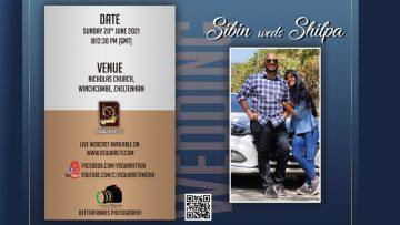 Sibin Weds Shilpa Wedding